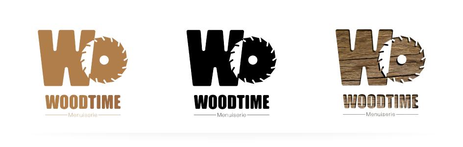 Bandeau logo Woodtime Menuiserie