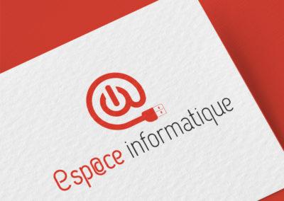 Logo Esp@ce informatique