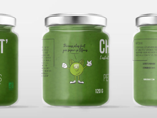 Packaging – Pot de légumes
