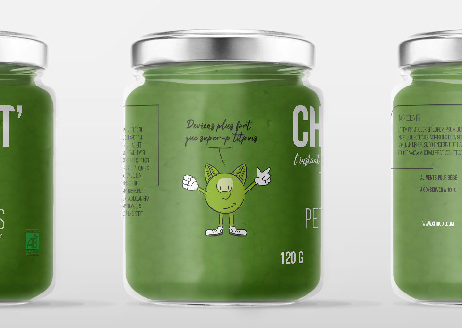 Packaging – Pot de légumes