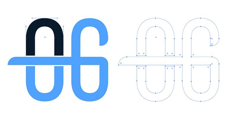 Exemple de logo vectoriel