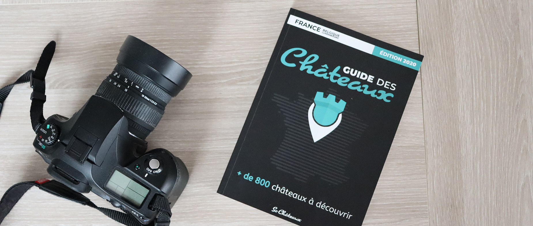 Livre Guide des Châteaux 2020 So-Châteaux
