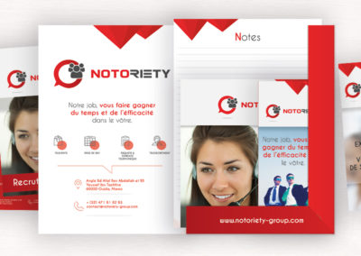 Kit de communication – Salon Notoriety