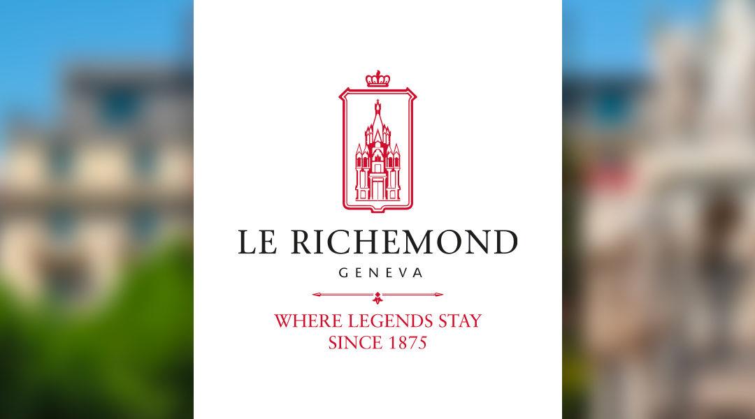 Refonte du logo Le Richemond Hôtel 5* Genève