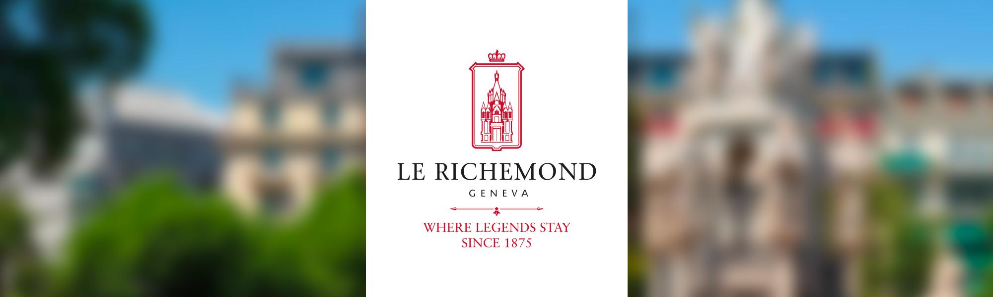 Bandeau Logo Le Richemond-Genève