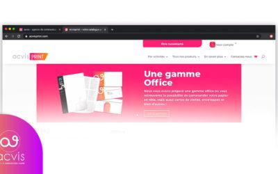 Acvisprint un catalogue à destination des entreprises