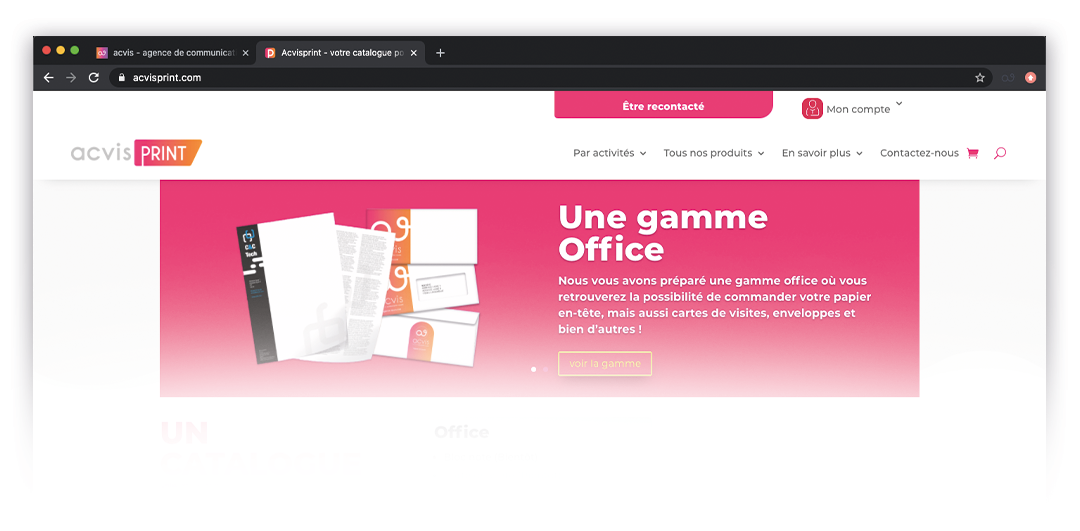 acvis print site