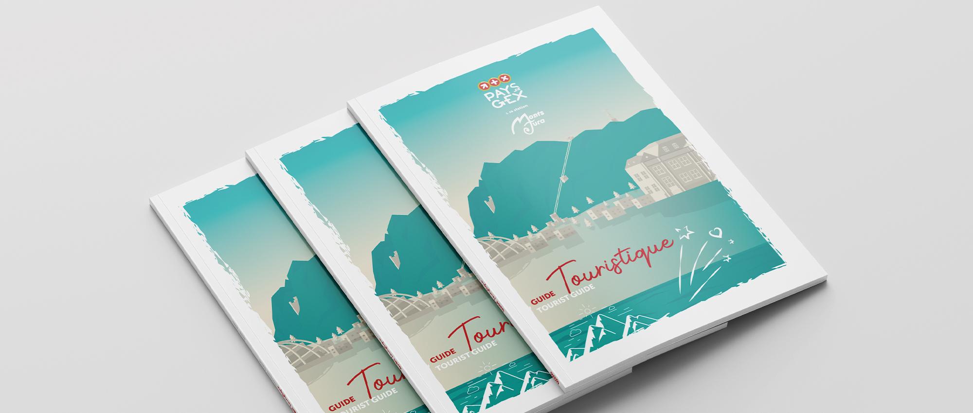 Bannière brochure guide touristique