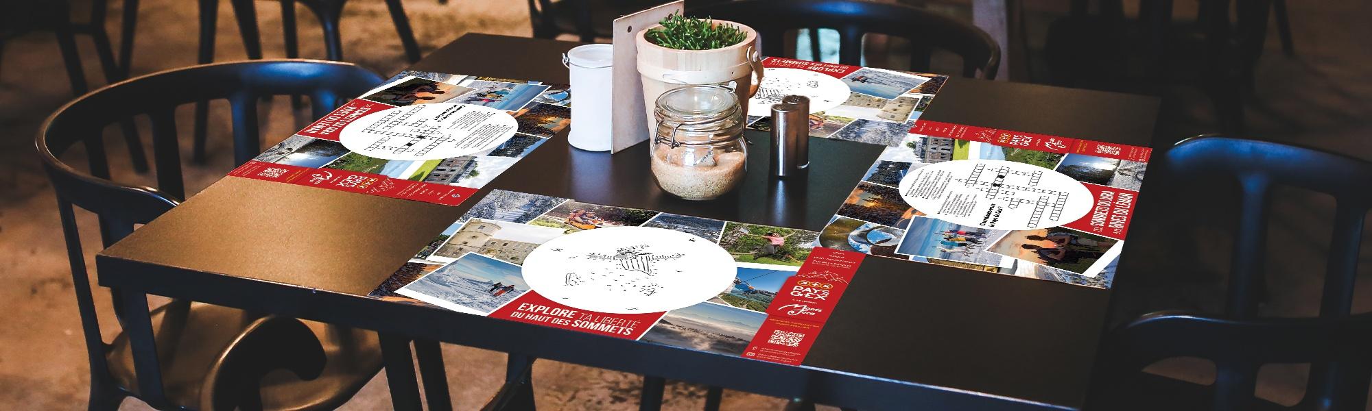 Set de table office de tourisme