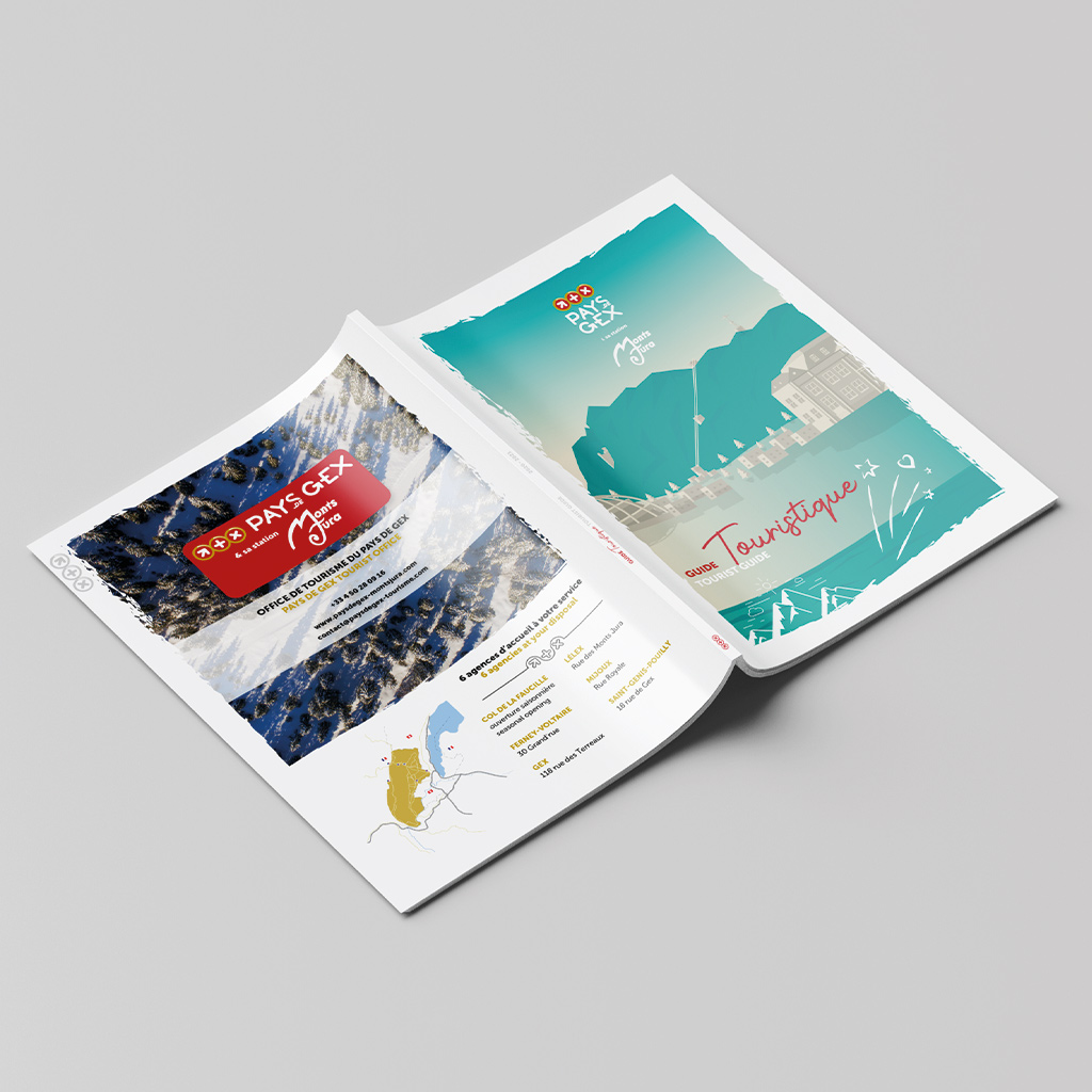 Brochure guide touristique extérieur