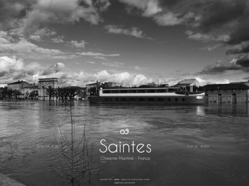 Photo-reportage Inondation Saintes 2021
