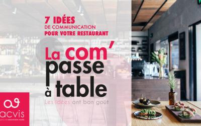 7 idées de communication pour votre restaurant